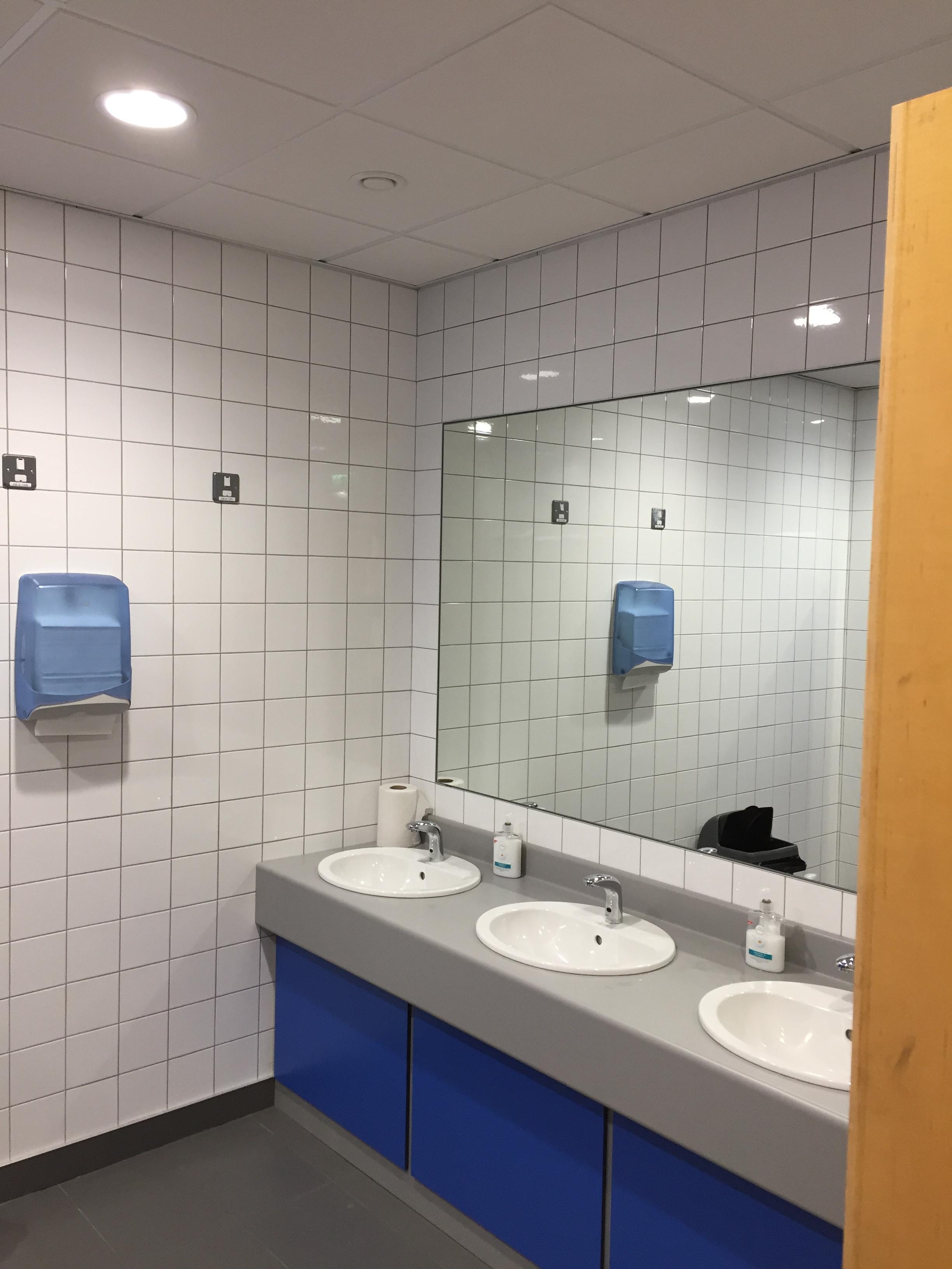 Facilities - wash hand basin, mirror