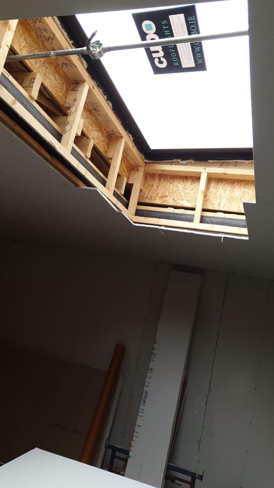 Rooflight installation
